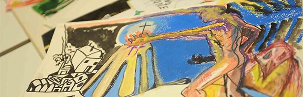 Inaugurazione della mostra di pittura di Amerigo Schiavo: sabato 19 marzo 2016