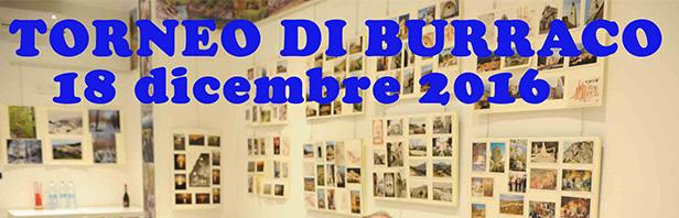 Torneo annuale di burraco - domenica 18 dicembre 2016