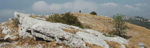 Monti del Calpazio : traversata dal passo del Vesole al santuario del Granato - lunedi 28 agosto 2017
