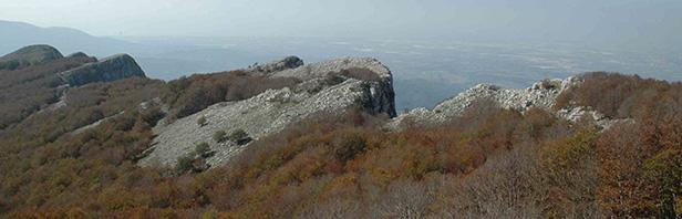 Monti Alburni: un anello per la vetta della Nuda da Postiglione - 21 ottobre 2018