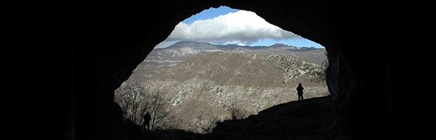 Colle Civita e grotta - monti alburni - sabato 28 dicembre 2019