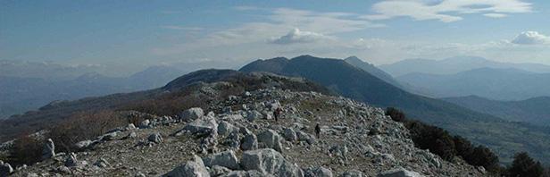 Le Dee di roccia dal passo del Vesole a Capaccio - domenica 12 gennaio 2020