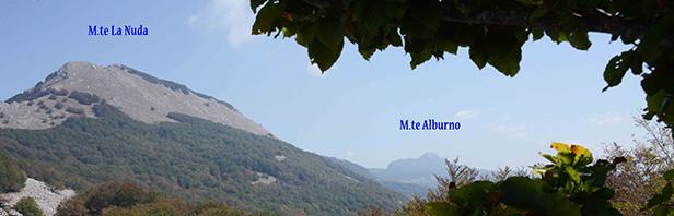 Un anello per il monte Pizzuto - monti Alburni - domenica 20 settembre 2020