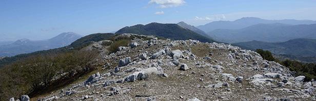 Grande traversata dal passo del Vesole al Granato - domenica 4 ottobre 2020