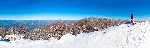 Monti Alburni: Cima dei Monti Alburni dal Rifugio Panormo 29 novembre 2015