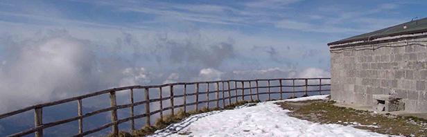 Monti Picentini: Acqua Carpegna - Pizzo San Michele - Santuario S. Michele di Basso 20 marzo 2016