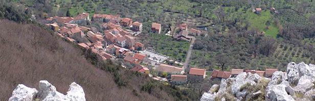Da Capizzo al Varco di M. Chiaianiello - Cappella di San Mauro - Capizzo 17 aprile 2016