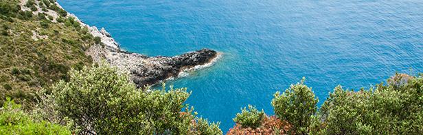 Capo Palinuro - cascate dei Capelli di Venere - Battaglia - domenica 29 Maggio 2016